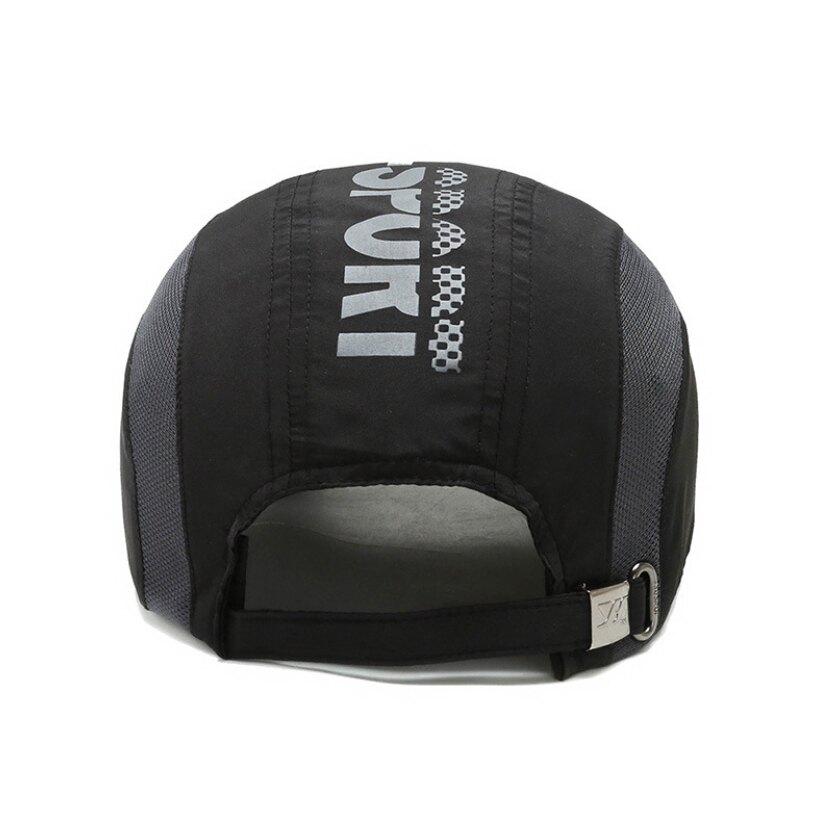 騎跑泳者-速乾 有型運動帽 輕薄透氣 防曬 登山 戶外休閒 運動適用 可調節式扣環 多種顏色