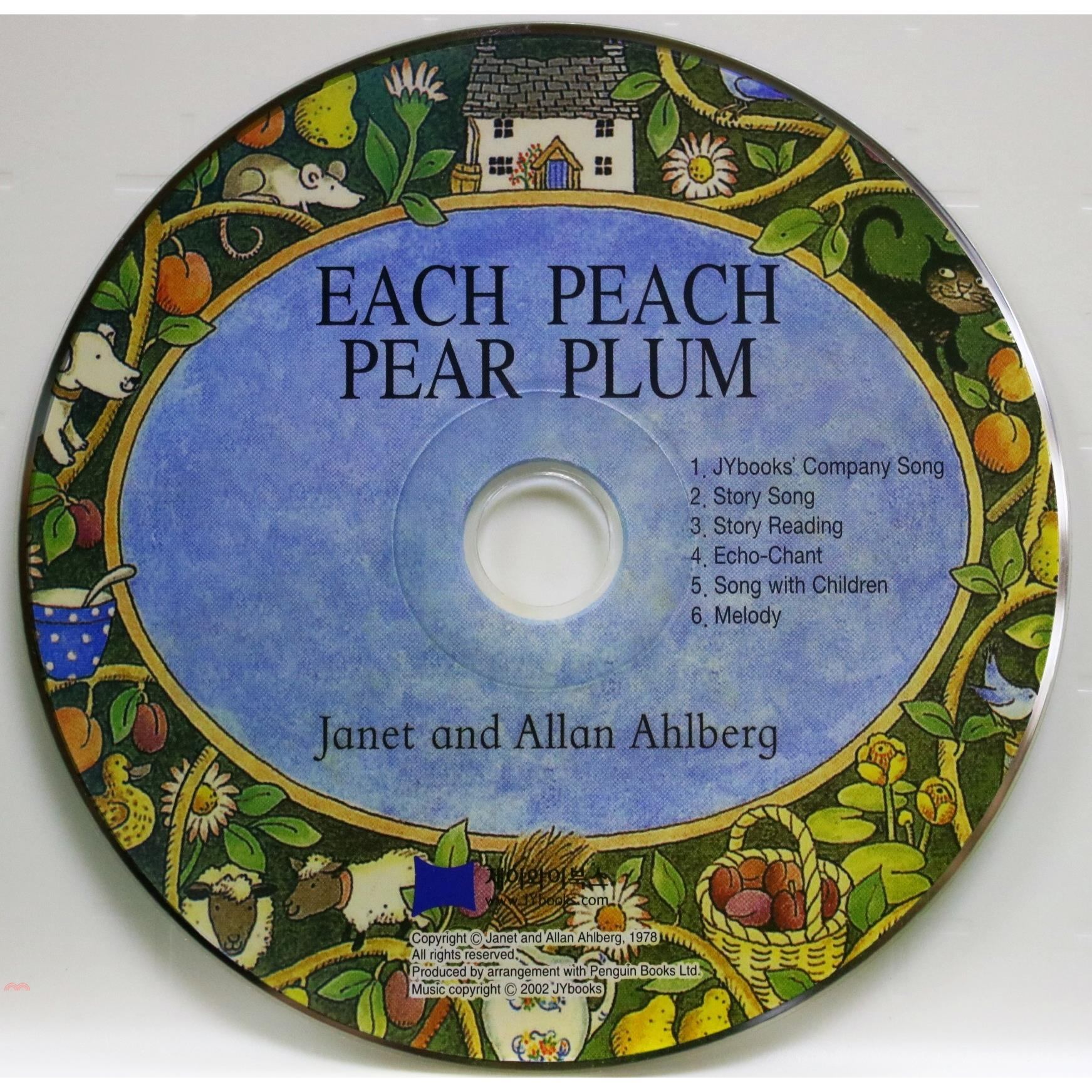 Each Peach Pear Plum (1 CD only) 廖彩杏老師推薦有聲書第28週【三民網路書店】[73折]