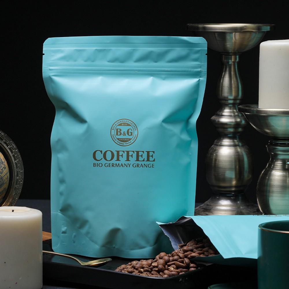 B&G 德國農莊 Tea Bar 中焙/淺中焙 精選產地高品質咖啡豆(非即溶式) -半磅(約230公克)