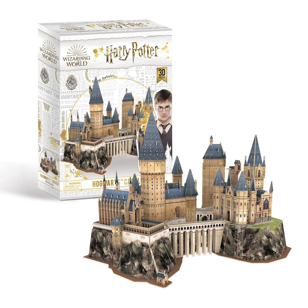 Harry Potter3D立體拼圖-霍格華茲城堡豪華收藏版