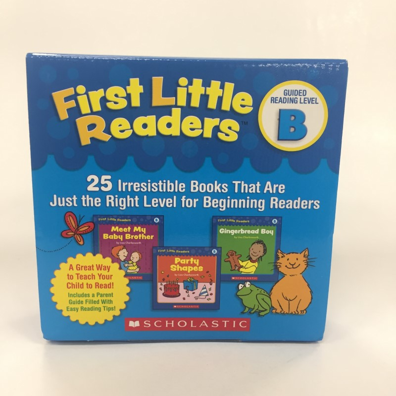 First Little Readers: Guided Reading Level B : 25 (WITH CD)