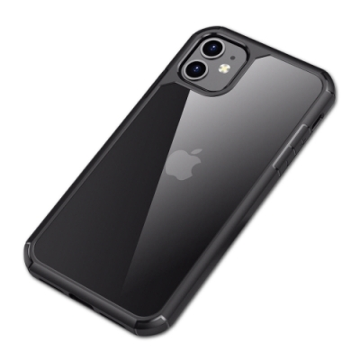 IN7王者系列 iPhone 12 (6.1吋) 透明 防摔殼 防撞 軟邊 TPU+PC背板 雙料保護殼