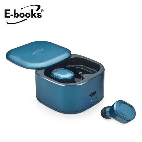 【E-books】SS20 真無線TWS高階款藍牙5.0耳機(藍)【三井3C】