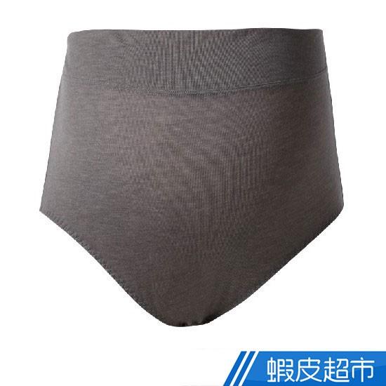 貝恩 官方直營 孕哺系列時尚簡約高腰款內褲-簡約灰