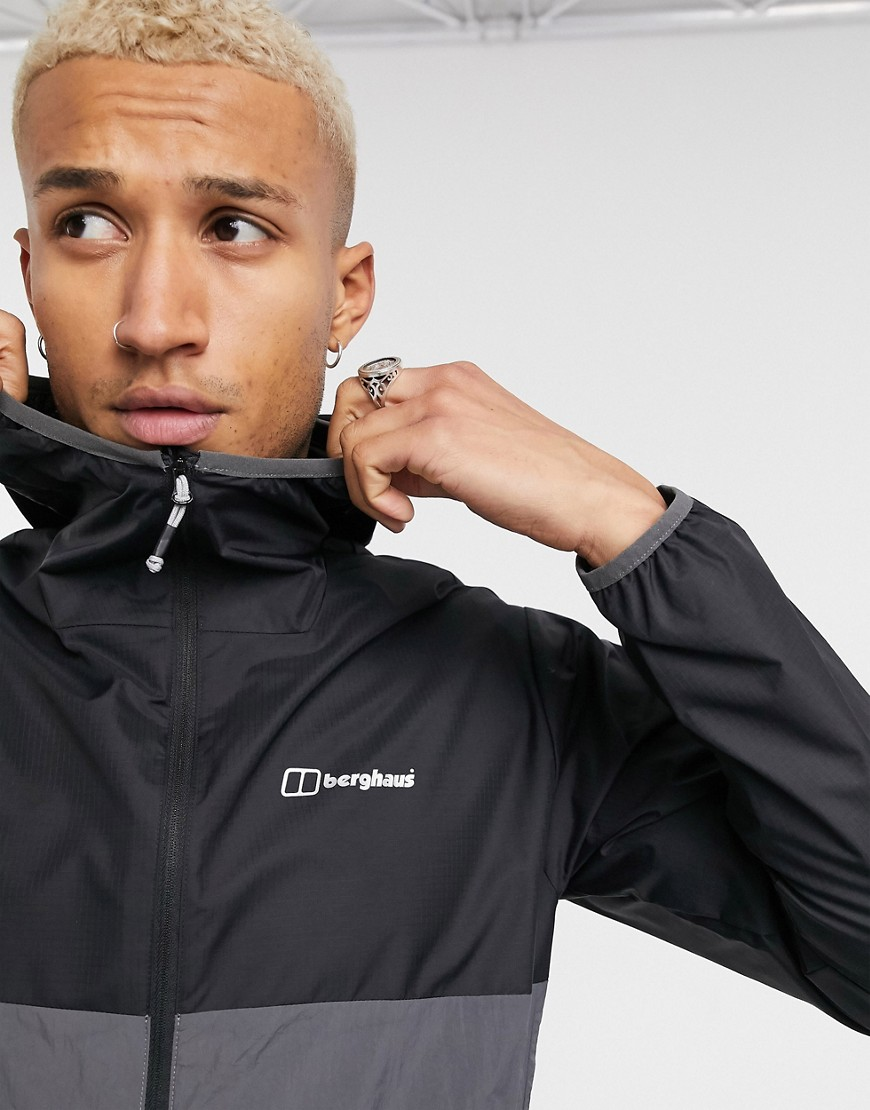 Berghaus Corbeck wind jacket in black
