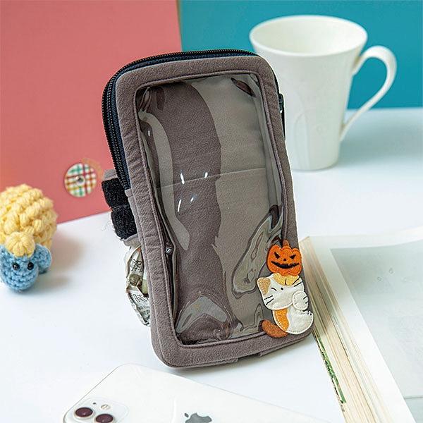 萬聖節運動手機袋/拼布包包
