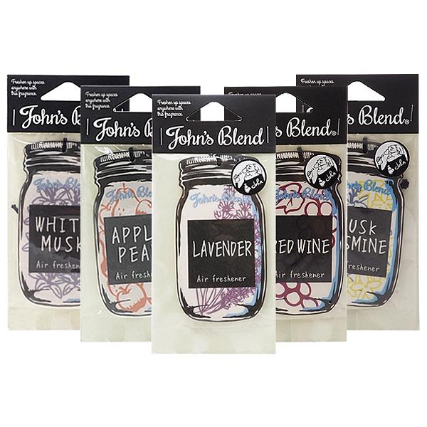 日本John's Blend 香氛卡(1入) 多款可選【小三美日】香氛片/吊飾