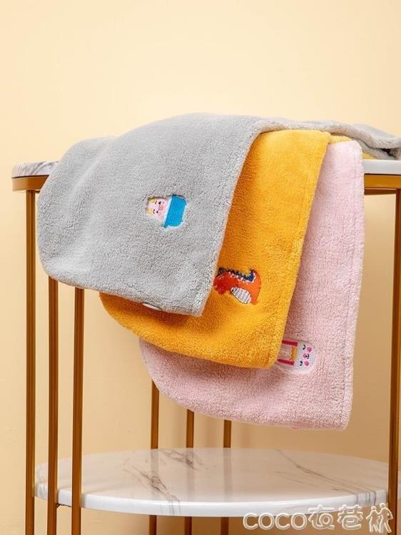 幹髮帽可愛韓國幹髮帽超強吸水浴帽洗頭髮速幹毛巾包頭女長髮擦頭幹髮巾  COCO