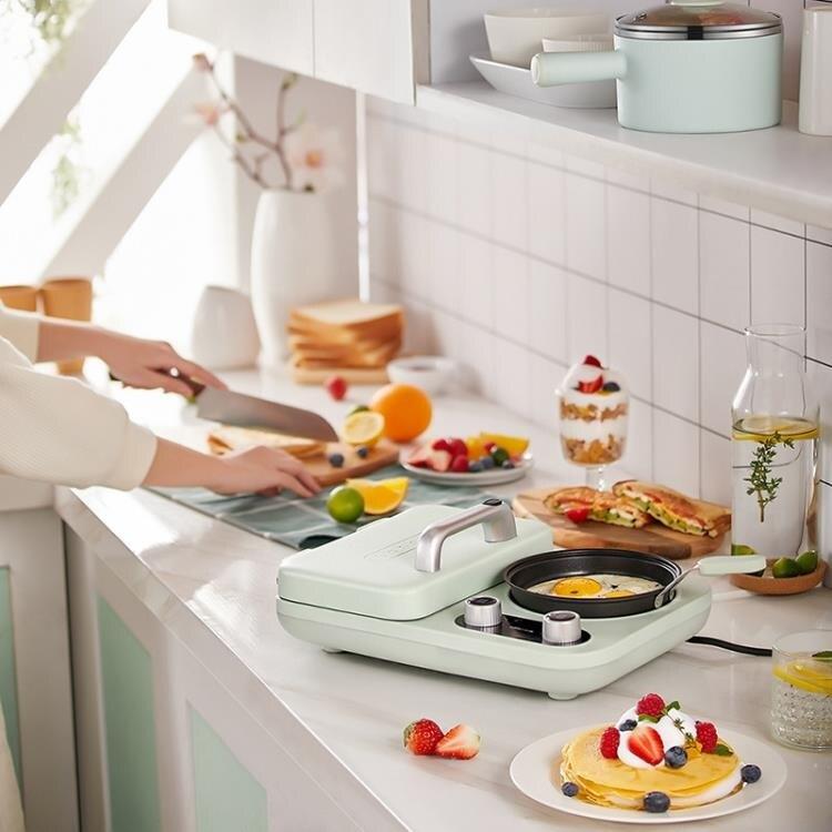 三明治機早餐機家用小型輕食機懶人多功能吐司壓烤面包機