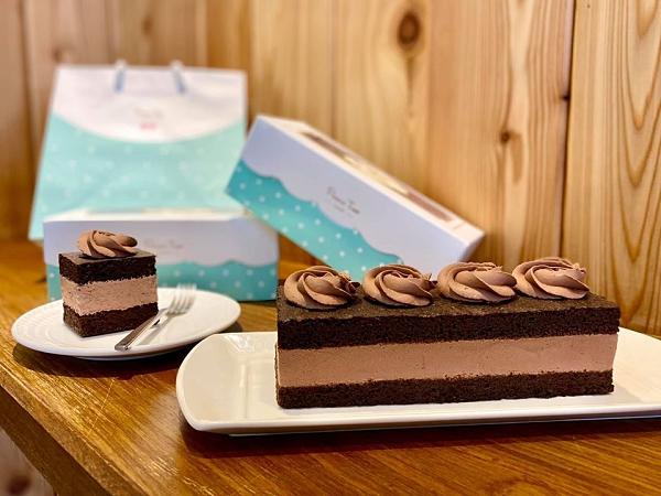 《無糖》巧克力香緹蛋糕《糖尿病友善》