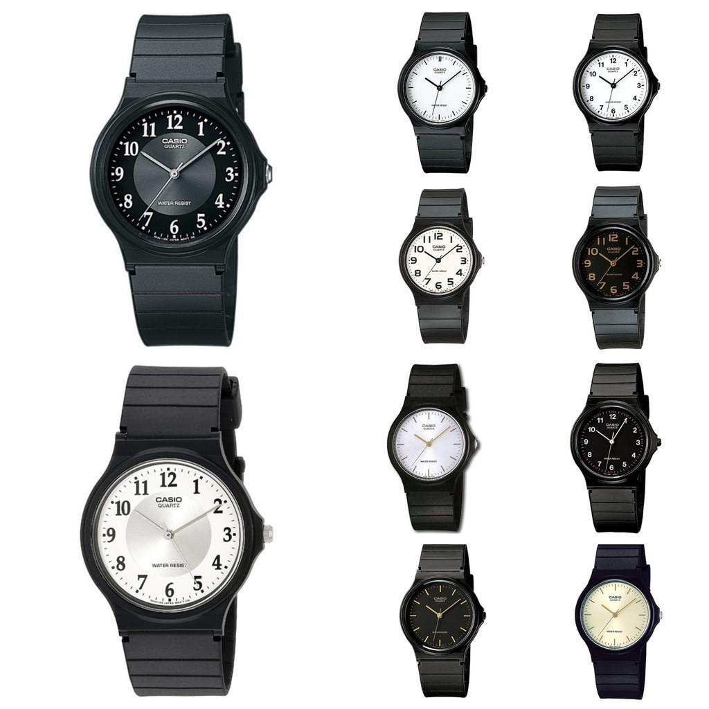 CASIO 卡西歐手錶 MQ-24簡約時尚手錶 廠商直送