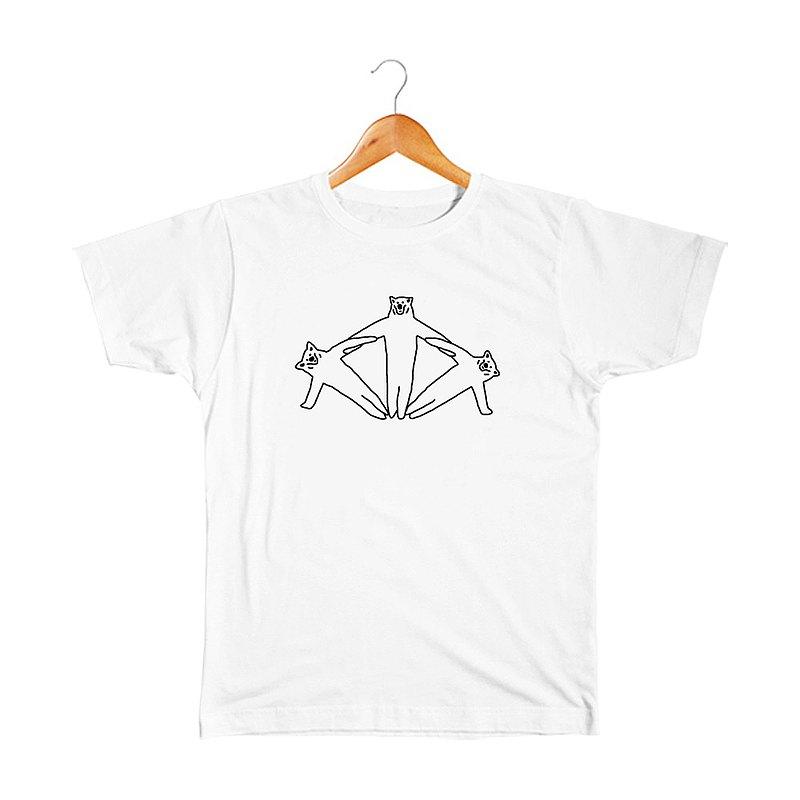 クマの組体操 #12 T恤