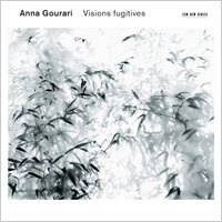 瞬間幻影|鋼琴:安娜.高菈麗 Anna Gourari: Visions fugitives (CD) 【ECM】
