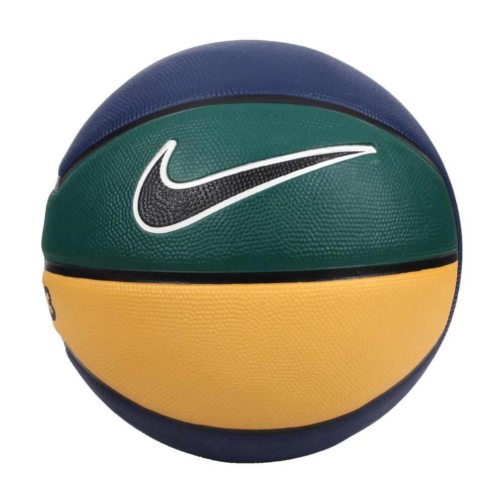 nike lebron playground 4p 7號籃球-室內外 訓練 丈青黃綠