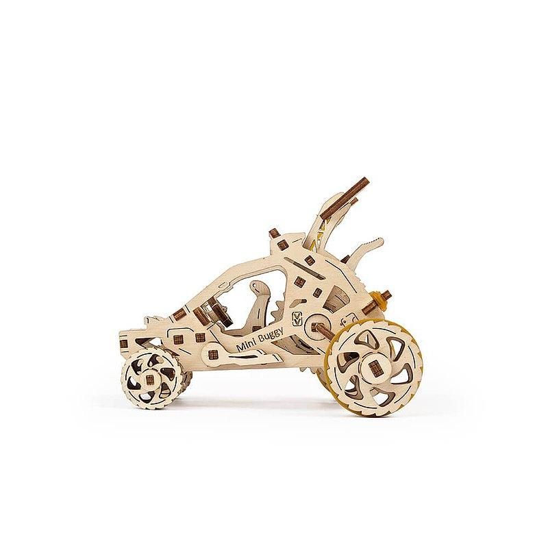 /Ugears/ 烏克蘭木製模型 飆沙小車車 Mini-Buggy
