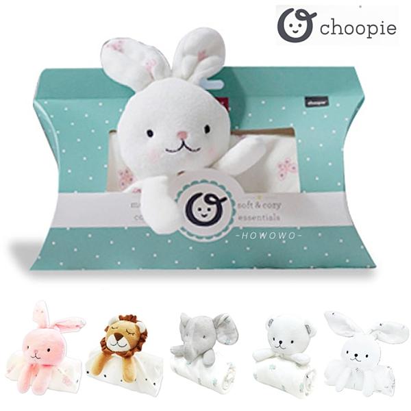 美國 Choopie CltyCozy 玩偶安撫巾 (7款) 彌月禮盒 動物安撫巾 安撫兔 安撫娃娃 3110 好娃娃
