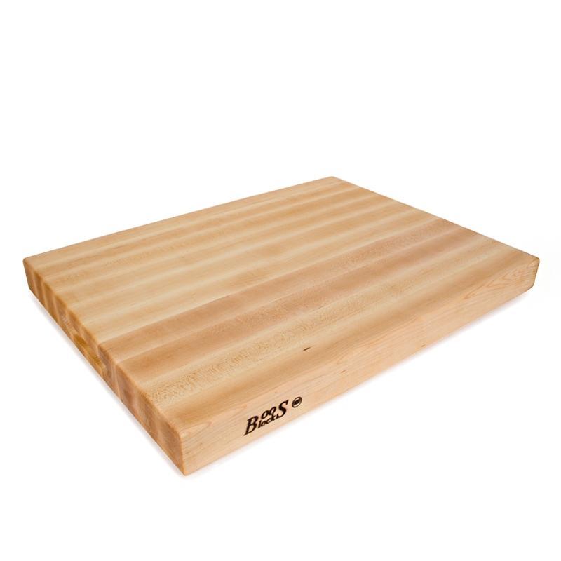 【Boos Blocks】北美楓木專業級雙面用廚房砧板61x46x6cm_RA03_附魔幻油2oz x1