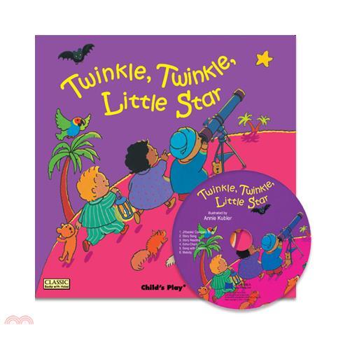 Twinkle Twinkle Little Star (1平裝+1 CD)(韓國JY Books版)【三民網路書店】