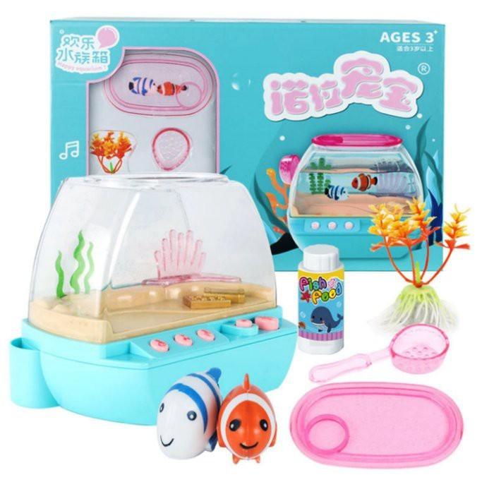 開心小魚水族箱 歡樂水族箱 開心小魚 小丑魚 寵物 過家家 韓國女孩玩具 cf148020