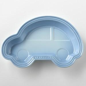 Le Creuset 汽車造型兒童餐盤 海岸藍