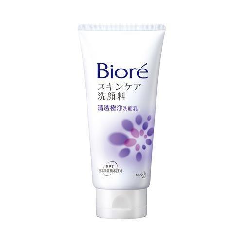 蜜妮Biore清透極淨洗面乳100g【愛買】