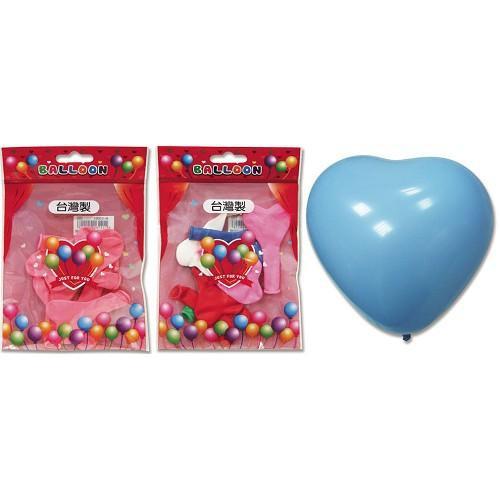 5吋心形氣球/小包裝BI-03003【愛買】