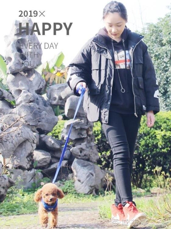 小狗狗胸背帶中小型犬背心式狗鏈子柯基泰迪遛狗繩寵物牽引繩用品