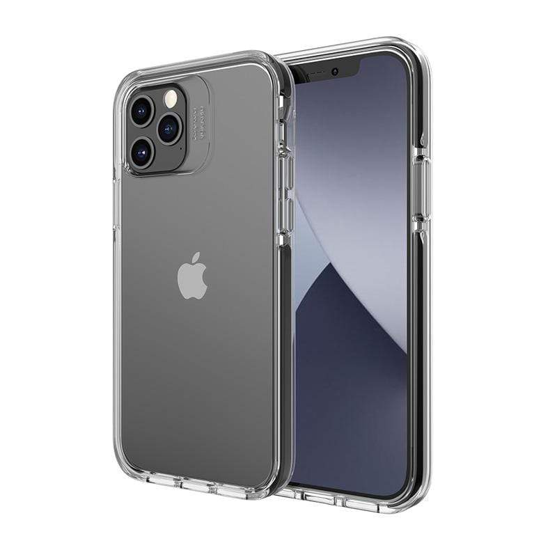 Smult 美國軍規3.05米晶透強化背蓋抗菌塗層防摔手機殼 Apple iPhone 12 / 12 Pro (6.1吋)專用-防摔衣原料邊條(3色可選) iPhone 12 / 12 Pro (6