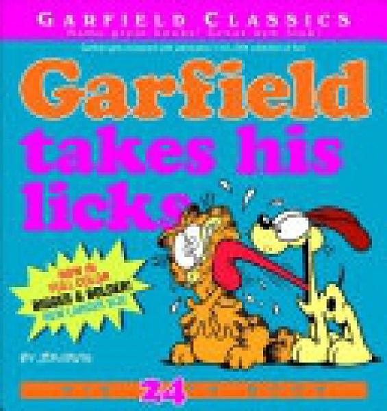 二手書博民逛書店 《Garfield Takes His Licks》 R2Y ISBN:9780345525871│Garfield Classics (Paperback)