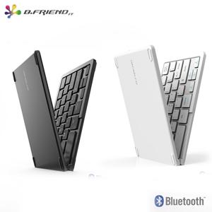 B.Friend BT-1245S一對三摺疊藍牙鍵盤黑