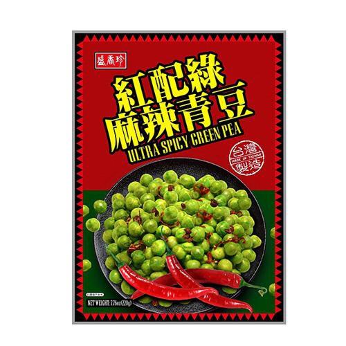 盛香珍盛香珍麻辣青豆220g【愛買】