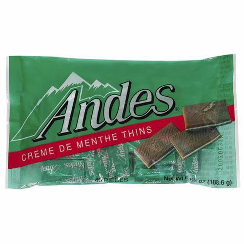 安迪士Andes巧克力薄片-薄荷口味165g【愛買】