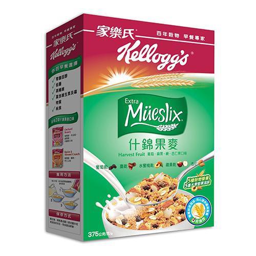 家樂氏Extra什錦果麥-豐果口味375g【愛買】
