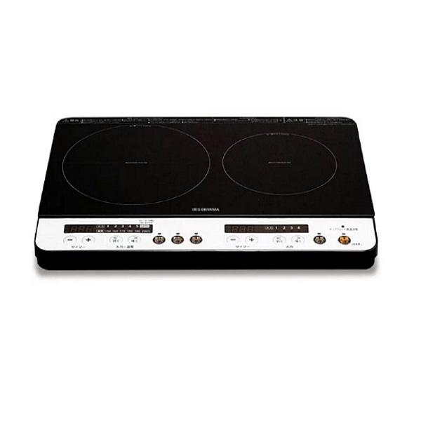 日本 IRIS 2口IH免安裝調理爐  IHKW12  免安裝  簡易安裝(不含架高版)
