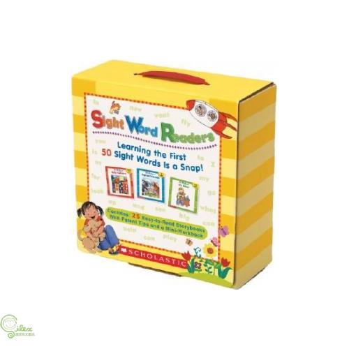 Sight Word Readers with CD (25本小書+1習作本+1CD)【禮筑外文書店】[73折]