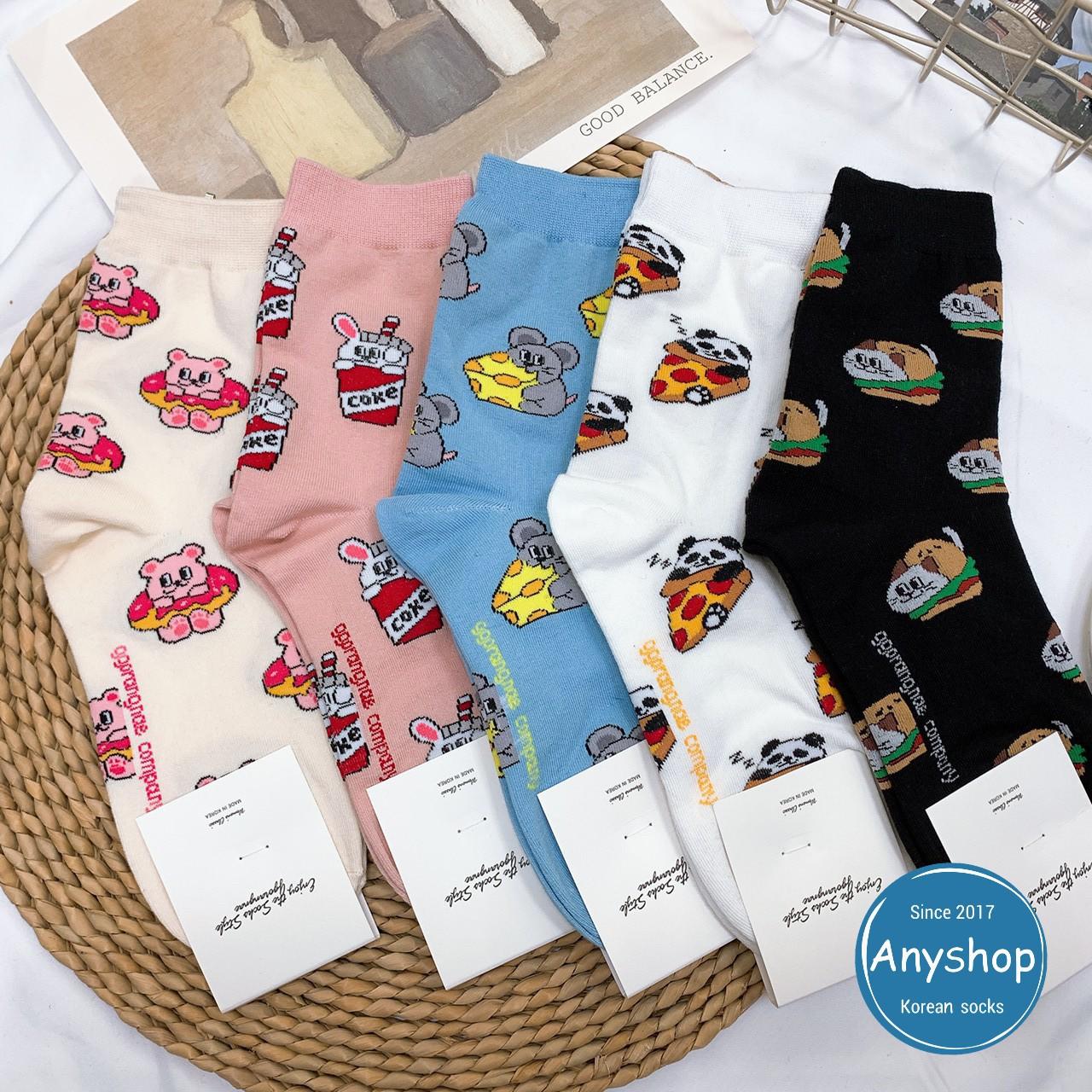 韓國襪-[Anyshop]想變胖的動物中筒襪
