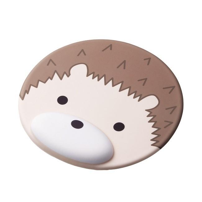 ELECOM動物造型鼠墊/ 刺蝟 eslite誠品