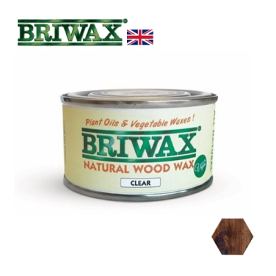【英國Briwax】天然木製品清潔保養蠟 125g