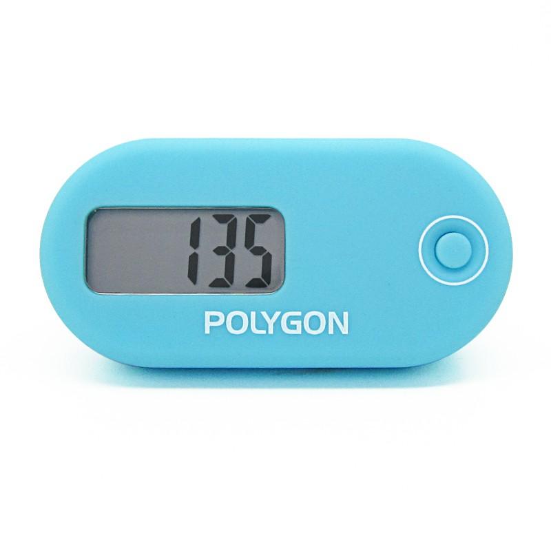 Polygon單功能3D電子計步器 兒童老人走路萬步計記步器游戲計數器