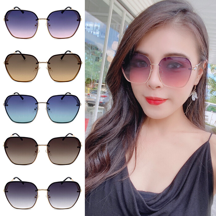 歐美鑲鑽太陽眼鏡 超高cp值 精品太陽眼 網紅墨鏡 修臉神氣 抗紫外線uv400