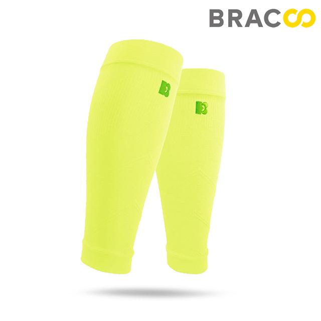 BRACCO(LS70)高階小腿襪套 螢光黃