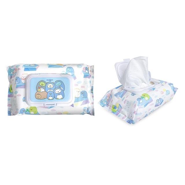 角落小夥伴 純水濕紙巾80抽(有蓋) 不含添加好安心