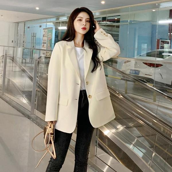 西裝外套網紅小西裝新款外套女春秋白色韓版炸街設計感套裝小個子西服 雙12全館免運