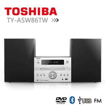 TOSHIBA DVD/MP3/USB/藍芽床頭音響(TY-ASW86TW)