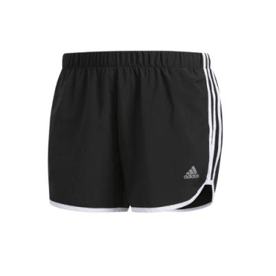 adidas 短褲 運動 慢跑 健身 女款 黑 DQ2645