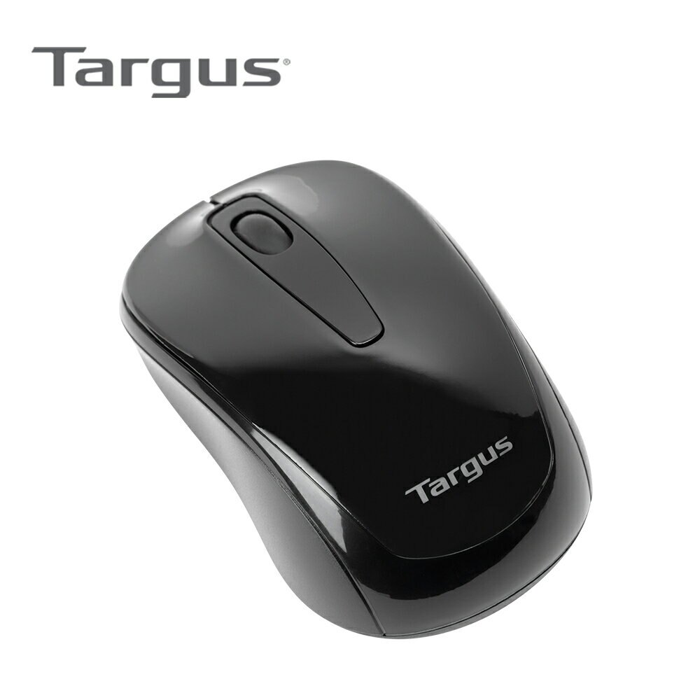【Targus】無線光學滑鼠(AMW600) 墨黑【三井3C】