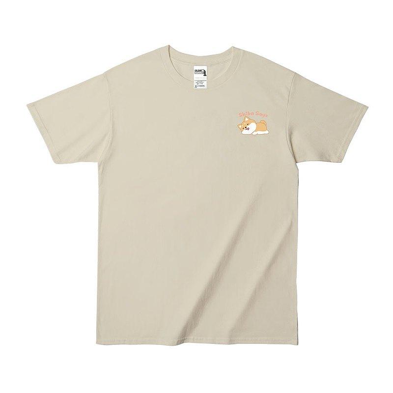 (預購) 柴語錄 X Gildan 聯名亞規精梳厚磅中性T恤 ~睡覺款