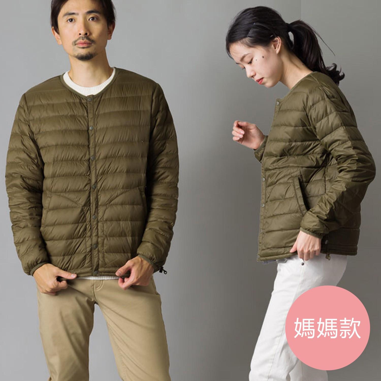 日本女裝代購 - 超輕量保暖羽絨外套(媽媽)-墨綠