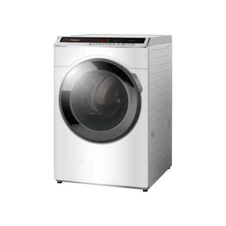 (含標準安裝)【Panasonic國際牌】14KG滾筒洗脫ECONAVI變頻洗衣機 NA-V140HW-W