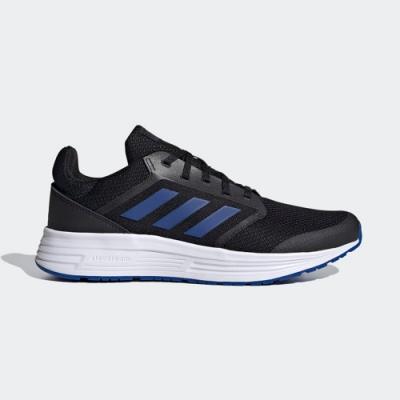 adidas 慢跑 訓練 緩震 運動鞋 男鞋 黑 FW5706 GALAXY 5